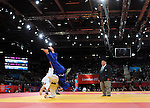 Olympic Games 2012; Judo - ExCel North Arena 2; women's 57kg. Automne Pavia (FRA) vs. Carli Renzi (AUS)