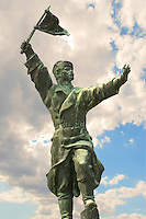 Osztyapenko Statue in the Memento Sculpture Park - Communist Sculptures museum - Budapest - Hungary