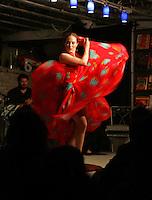 Christie O'Brien Flemenco dancing. Photo/Andrew Shurtleff..