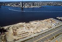 1982 April 01..Redevelopment.Downtown South (R-9)..WATERSIDE.CONSTRUCTION PROGRESS...NEG#.NRHA#..