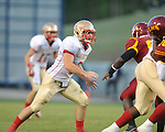 Lafayette High's Alec Michael (7) vs. Laurel in the MHSAA Class 4A championship game at Mississippi Veterans Memorial Stadium in Jackson, Miss. on Saturday, December 3, 2011. Lafayette won 39-29, the team's 32 straight win, to capture their second consecutive state championship.