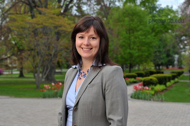 Director of Sustainability Heather Tonk..Photo by Matt Cashore/University of Notre Dame