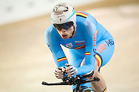 Picture by Alex Whitehead/SWpix.com - 03/03/2017 - Cycling - UCI Para-cycling Track World Championships - Velo Sports Center, Los Angeles, USA - Belgium's Diederick Schelfhout wins Bronze in the Men's C3 3km Individual Pursuit.