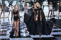 Karlie Kloss, Taylor Swift on the runway at the Victoria's Secret Fashion Show 2014 London held at Earl's Court, London. 02/12/2014 Picture by: James Smith / Featureflash