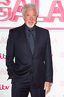 LONDON, UK. November 24, 2016: Sir Tom Jones at the 2016 ITV Gala at the London Palladium Theatre, London.<br /> Picture: Steve Vas/Featureflash/SilverHub 0208 004 5359/ 07711 972644 Editors@silverhubmedia.com