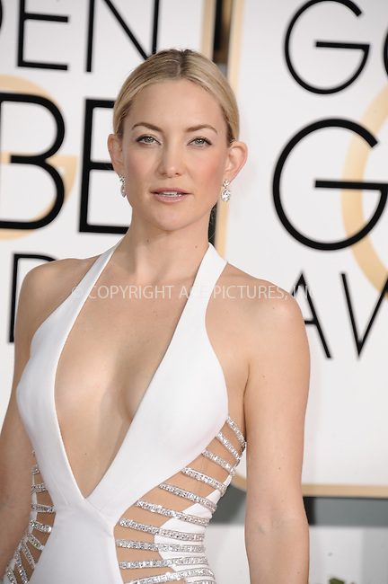 WWW.ACEPIXS.COM<br /> <br /> January 11 2015, LA<br /> <br /> Kate Hudson arriving at the 72nd Annual Golden Globe Awards at The Beverly Hilton Hotel on January 11, 2015 in Beverly Hills, California.<br /> <br /> <br /> By Line: Peter West/ACE Pictures<br /> <br /> <br /> ACE Pictures, Inc.<br /> tel: 646 769 0430<br /> Email: info@acepixs.com<br /> www.acepixs.com