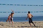 Beach volleyball at Twin Lakes Beach