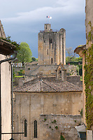 chateau du roi tower saint emilion bordeaux france