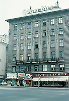 Otto Wagner: Apartment Building, 12 Universitatstr., Vienna. Note decorative features on facade.