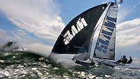 AUSTRALIA, Sydney Harbour, 19th February, JJ Giltinan Championship, Race 5, SLAM