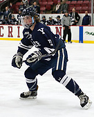 Charlie Curti (Yale - 23) - The Harvard University Crimson defeated the Yale University Bulldogs 6-4 in the opening game of their ECAC quarterfinal series on Friday, March 10, 2017, at Bright-Landry Hockey Center in Boston, Massachusetts.