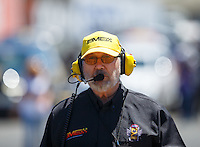 Jul 30, 2016; Sonoma, CA, USA; NHRA top fuel team owner Bill Miller during qualifying for the Sonoma Nationals at Sonoma Raceway. Mandatory Credit: Mark J. Rebilas-USA TODAY Sports
