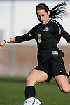 27 November 2009: Wake Forest's Kaley Fountain. The University of North Carolina Tar Heels defeated the Wake Forest University Demon Deacons 5-2 at Fetzer Field in Chapel Hill, North Carolina in an NCAA Division I Women's Soccer Tournament Quarterfinal game.