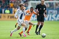 CARSON, CA-DECEMBER 1, 2012 -  David Beckham battles during the 2012 MLS Cup Championship at the Home Depot Center in Carson, CA.  The LA Galaxy defeated the visiting Houston Dynamo 2-1 to repeat as Cup champions.