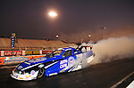 Jan. 19, 2012; Jupiter, FL, USA: NHRA funny car driver Robert Hight during testing at the PRO Winter Warmup at Palm Beach International Raceway. Mandatory Credit: Mark J. Rebilas-