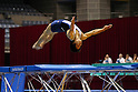 Shotaro Sugiura (JPN), JULY 9, 2011 - Tumbling : 2011 FIG Tumbling World Cup Series Kawasaki Men's Tumbling Qualifications at Todoroki Arena, Kanagawa, Japan. (Photo by YUTAKA/AFLO SPORT) [1040]
