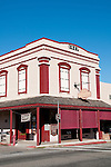 Historic buildings, downtown, Mariposa; California, USA.  Photo copyright Lee Foster.  Photo # california121541