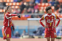 (L to R) Homare Sawa,  Ji So-Yun (Leonessa), JANUARY 1, 2012 - Football / Soccer : The 33th All Japan Women's Football Championship final match between INAC Kobe Leonessa 3-0 Albirex Ladies at National Stadium in Tokyo, Japan. (Photo by Akihiro Sugimoto/AFLO SPORT) [1080]