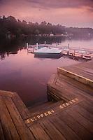 Waterfront at Tibbetts House, Hamilton Reservoir, Holland, Massachusetts, US