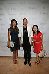 Guests and Designers Henry Picado  Attend Theia Spring 2014 Presentation Held at the New York Palace, NY