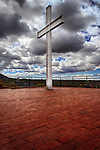 Cross of the Martyrs at Hillside Park in Santa Fe, New Mexico.