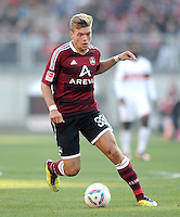 FUSSBALL   1. BUNDESLIGA  SAISON 2011/2012   10. Spieltag 1 FC Nuernberg - VfB Stuttgart         22.10.2011 Alexander Esswein (1 FC Nuernberg)