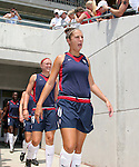 30 July 2006: Carli Lloyd (USA) (11) and Christie Welsh (USA) (19). The United States Women's National Team defeated Canada 2-0 at SAS Stadium in Cary, North Carolina in an international friendly soccer match.