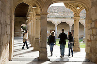 Patio de Escuelas Menores, University of Salamanca, Castile and Leon, Spain