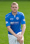 St Johnstone FC 2014-2015 Season Photocall..15.08.14<br /> Brian Easton<br /> Picture by Graeme Hart.<br /> Copyright Perthshire Picture Agency<br /> Tel: 01738 623350  Mobile: 07990 594431