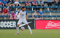 Kansas City, KS. - May 28, 2016: The U.S. Men's national team take a 1-0 lead over Bolivia in first half action during an international friendly tuneup match prior to the opening of the 2016 Copa America Centenario at Children's Mercy Park.