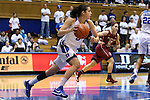 11 February 2016: Duke's Angela Salvadores (ESP). The Duke University Blue Devils hosted the Florida State University Seminoles at Cameron Indoor Stadium in Durham, North Carolina in a 2015-16 NCAA Division I Women's Basketball game. Florida State won the game 69-53.