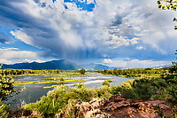 Storm Clouds, South Fork Snake River, Swan Valley Idaho