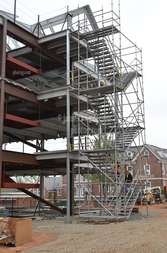 Central Connecticut State University.  New Academic Building.  Project No: BI-RC-324.Architect: Burt Hill Kosar Rittelmann Associates    Contractor: Gilbane Building Company, Glastonbury, CT..James R Anderson Photography   New Haven CT   photog.com.Date of Photograph: 18 April 2012  Image No.: 31.Camera View: