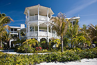 Luxury homes at the vacation resort of Anna Maria Island, Florida, United States of America