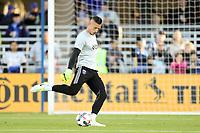 San Jose, CA - Saturday April 08, 2017: David Bingham  prior to a Major League Soccer (MLS) match between the San Jose Earthquakes and the Seattle Sounders FC at Avaya Stadium.