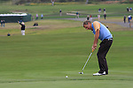 Bobby Clampett on the 6th green at Pebble Beach Golf Links