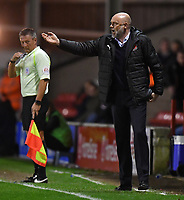 Fleetwood Town's Manager Uwe Rosler shouts instructions to his team<br /> <br /> Photographer Dave Howarth/CameraSport<br /> <br /> The EFL Sky Bet League One - Walsall v Fleetwood Town - Tuesday 14th March 2017 - Banks's Stadium - Walsall<br /> <br /> World Copyright &copy; 2017 CameraSport. All rights reserved. 43 Linden Ave. Countesthorpe. Leicester. England. LE8 5PG - Tel: +44 (0) 116 277 4147 - admin@camerasport.com - www.camerasport.com