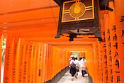 Tori gates at Fushimi Inari, Kyoto.