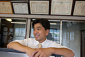 Keiji Kato (49years old) is a 4th generation President of  Kato (a light industry company, first started in 1888 as a blacksmith company) in Nakatsugawa, Japan, Monday 21st June 2010. Kato company has a workforce of 100 people, 50% of whom are 60 years of age or older. The elderly work force earn JPN &yen;800-1,000 per hour, but receive no annual bonus or pay rise.
