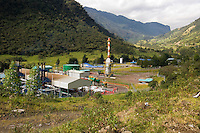 Petroleum Industry in the Pappallacta area; Ecuador