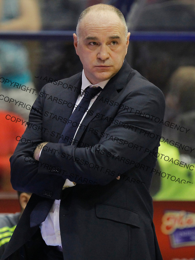Kosarka Euroleague season 2015-2016<br /> Euroleague <br /> Crvena Zvezda v Real Madrid<br /> head coach Pablo Laso<br /> Beograd, 27.11.2015.<br /> foto: Srdjan Stevanovic/Starsportphoto &copy;