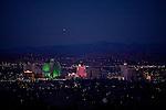 Reno, Nevada on the evening of December 2, 2009.
