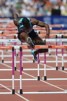 David Oliver of the USA during the Mens 100m Hurdles at the Sainsbury Anniversary Games, Olympic Stadium, London England, Saturday 27th July 2013-Copyright owned by Jeff Thomas Photography-www.jaypics.photoshelter.com-07837 386244. No pictures must be copied or downloaded without the authorisation of the copyright owner.