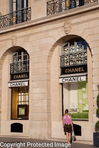 Chanel Shop, Place Vendome Square, Paris