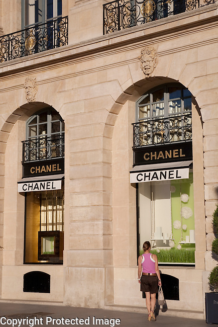 Chanel Shop, Place Vendome Square, Paris, France, Europe