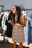 Rosario Dawson on the set of Chavez filming on location in 30 minutes from the Mexican capital on the coast of Hermosillo. June 5, 2012. Credit: Baldemat de los Llanos/NortePhoto/MediaPunch Inc. ***NO MEXICO**NO SPAIN**NO GERMANY**NO AUSTRIA***