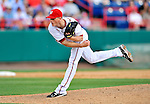 6 March 2011: Washington Nationals' pitcher Tim Wood on the mound during a Spring Training game against the Atlanta Braves at Space Coast Stadium in Viera, Florida. The Braves shut out the Nationals 5-0 in Grapefruit League action. Mandatory Credit: Ed Wolfstein Photo
