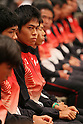 Yuki Kawauchi (JPN), August 12, 2011 - Athletics : Yuki Kawauchi of Japan attends the Organization Ceremony for the 13th IAAF World Athletics Championships in Tokyo, Japan. (Photo by Yusuke Nakanishi/AFLO SPORT) [1090]