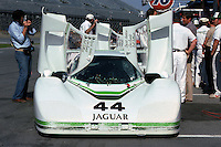 Jaguars entered by Bob Tullius were among the most immaculately prepared cars in racing, exemplified by this GTP entry in the 1984 event.