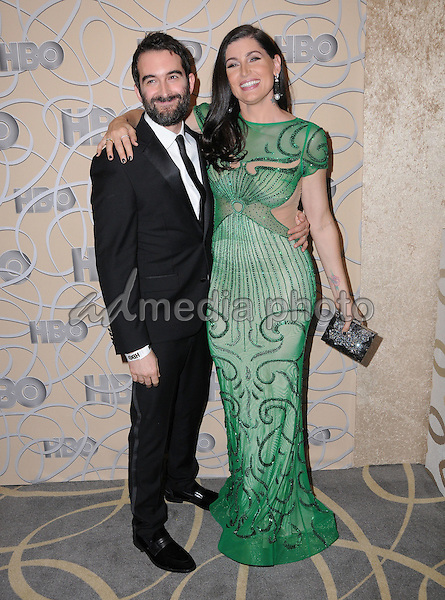 08 January 2017 - Beverly Hills, California - Jay Duplass, Trace Lysette. HBO's Official 2017 Golden Globe Awards After Party held at the Beverly Hilton Hotel Photo Credit: Birdie Thompson/AdMedia
